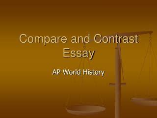 Contrast essay conclusion